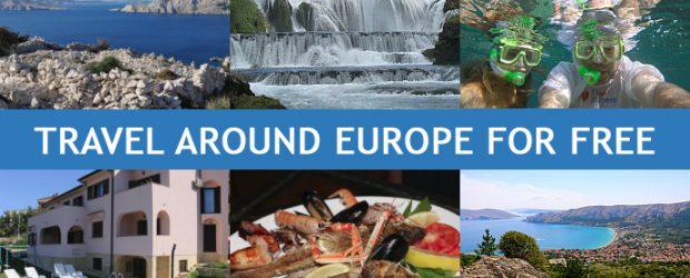 Take a free trip around Europe with me!