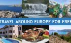 Take a free trip around Europe with me!